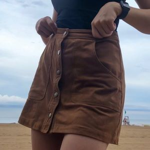🌟PERFECT suede skirt🌟